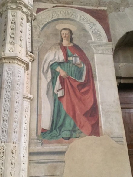 Famous fresco
