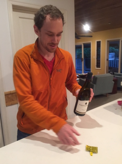 SMS demonstrates the wine condom